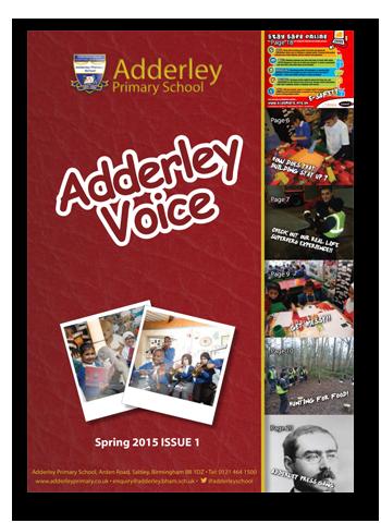 Adderley Voice Issue 1
