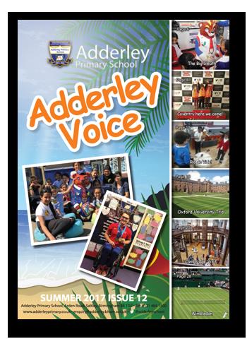 Adderley Voice Issue 12