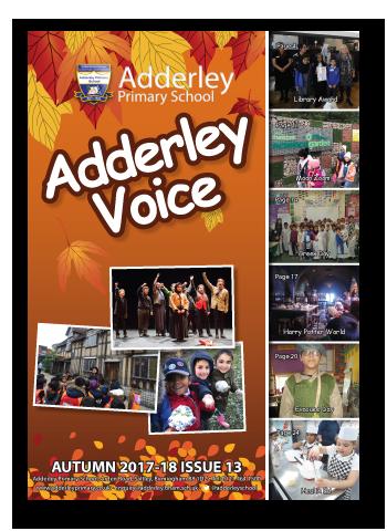 Adderley Voice Issue 13
