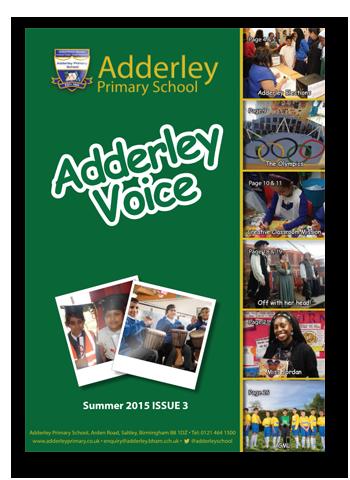 Adderley Voice Issue 3