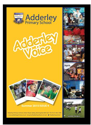Adderley Voice Issue 4