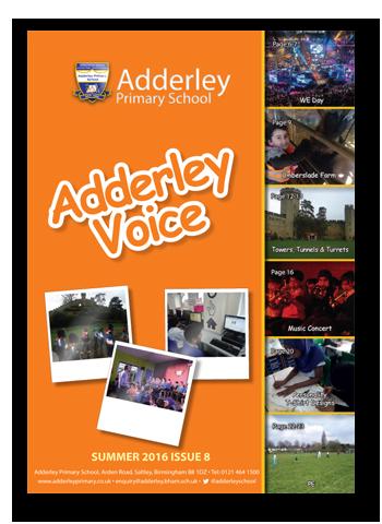 Adderley Voice Issue 8