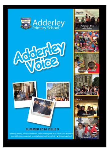 Adderley Voice Issue 9